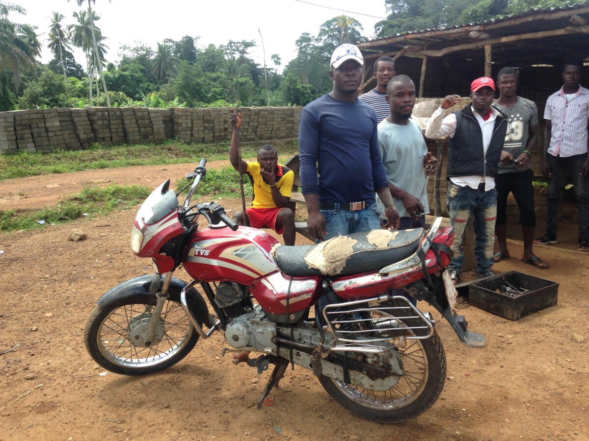 How vocational training changes lives in Sierra Leone