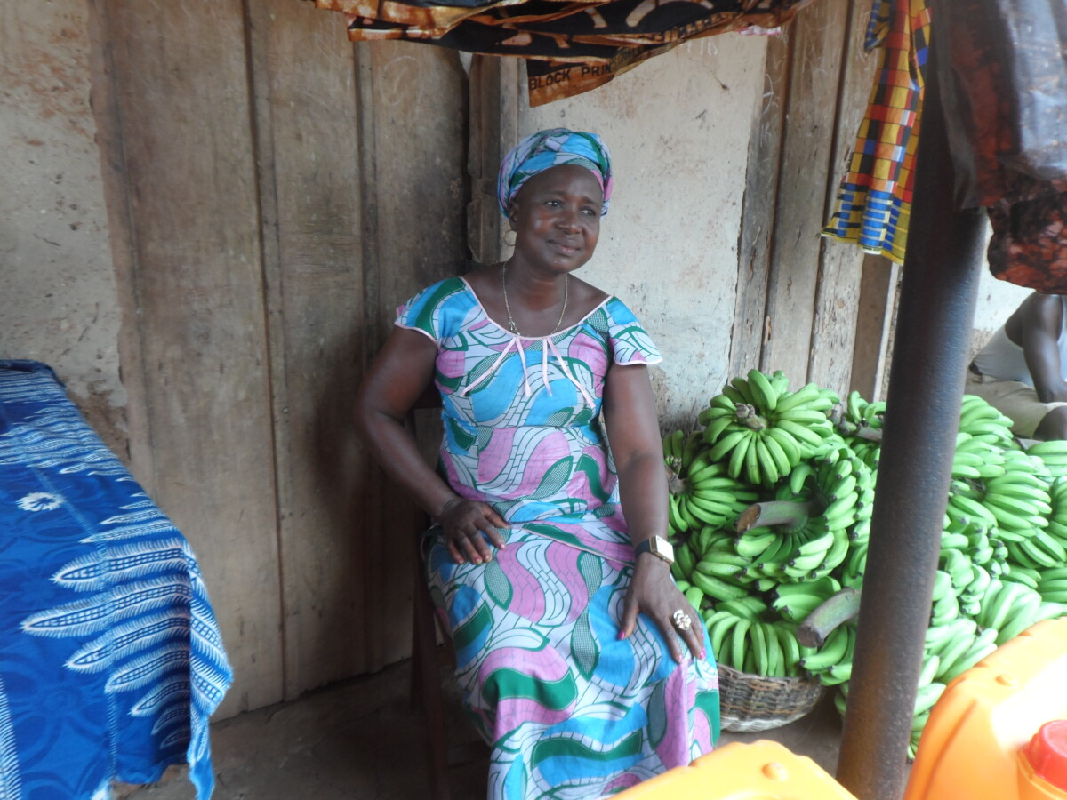 "Sierra Leone: ""Before we did not have enough food, but now I can provide for my family"""